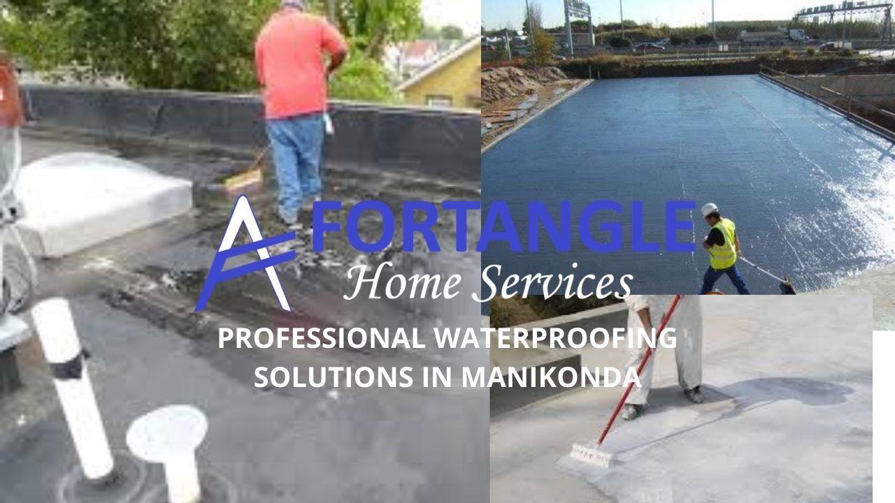 Professional waterproofing solutions in Manikonda